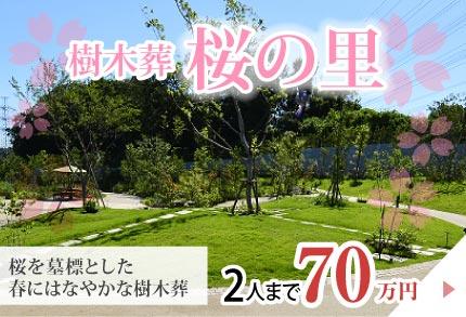 樹木葬桜の里 2人まで70万円