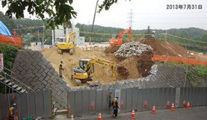 土地改良の工事